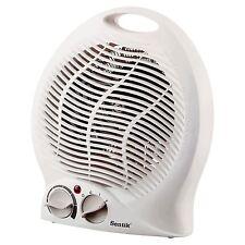 Sentik Electric Fan Heater 2000w 2kw Upright Hot & Cold Portable Floor Silent