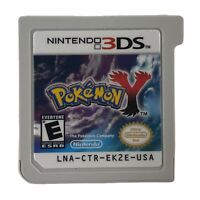 Pokemon Y (Nintendo 3DS, 2013) Authentic Tested Works