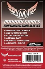 FUNDAS CARTAS MAYDAY GAMES CARD SLEEVES MINI CHIMERA 43 X 65 (100)