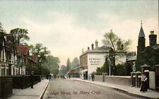 St Mary Cray. High Street by Earle, Stationer, Bromley.