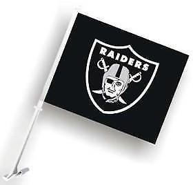 1 Las Vegas Raiders NFL Team Logo Auto Truck Car Flag