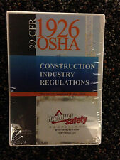 29 CFR 1926 OSHA English Constructions  Industry Regulations on CD  2016 Edition