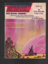 Worlds of Tomorrow August 1964 Philip K Dick Jack Sharkey Christopher Anvil