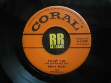 BUDDY HOLLY - PEGGY SUE  US CORAL  ROCK'N'ROLL