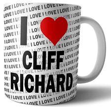 I Love Cliff Richard Tea - Coffee - Mug - Cup Birthday - Christmas - Gift