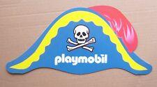 PLAYMOBIL - CHAPEAU DE PIRATE EN CARTON / PIRATE HAT IN CARDBOARD 2009 - NEUF