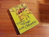 Wings in the Meadow by Jo Brewer, 1967 First 1st Edition, 1st Printing HCDJ