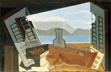 'La finestra aperta quadro - Stampa d''arte su tela telaio in legno'