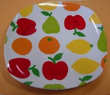 ESSENTIAL HOME CHINA FRUIT DESIGN DINNER PLATE