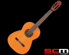 RRP$429 Ashton CG360S Classical Guitar Solid Cedar, Rosewood Back and Sides