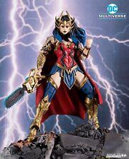 Preorder - Wonder Woman McFarlane Darkfather Baf Death Metal Action Figure