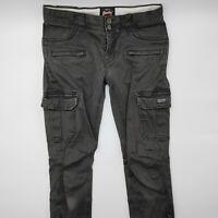 Superdry W30 L28 grau grey Damen Jeans Hose Denim Designer Mode Retro VTG
