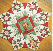 The Night Before Christmas tree skirt quilt pattern for Checkers