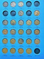 24 COINS FROM 1909-1940 WHEAT CENT/PENNY FOLDER (PAGE 3) NO FOLDER