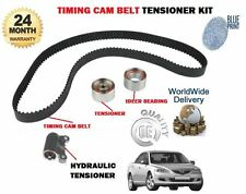 FOR MAZDA 6 2.0TD 2002-2005 NEW TIMING CAM BELT + WITH HYDRAULIC TENSIONER KIT