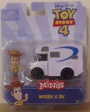 Disney Pixar Toy Story 4 ~ Woody & RV ~ Mini Vehicle & Figure