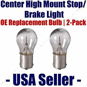 Center High Mount Stop/Brake Bulb 2pk - Fits Listed Isuzu Vehicles - 1073