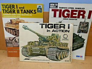Tiger Tank Books - 3 softcover books