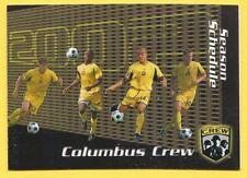 Columbus Crew 2002 Schedule MLS Soccer Futbol – Player Photos