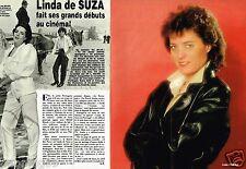 Coupure de Presse Clipping 1984 (2 pages) Linda De Suza