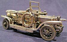 Franklin Mint 1907 Rolls-Royce 'Silver Ghost' Silver Car Miniature