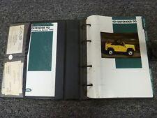 1995 Land Rover Defender 90 SUV Owner Owner's Manual User Guide Book 3.9L V8