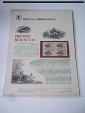 Frederic Remington - American Commemoratives. USPS, 1981.