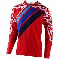 Troy Lee Designs Sprint Jersey Shirt Tld Bmx Mtb Dh Downhill Gear SECA RED
