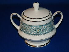 NORITAKE CHINA 6913 LARUE PATTERN COVERED SUGAR BOWL