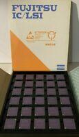 80286, Intel 80286, FUJITSU MBL80286-8 E10, less common Vintage CPU, NEW, yr 85