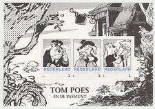 Nederland 3012-D-XX deel Postset Tom Poes postfris vel 3 Tom Poes en de Pasmunt