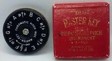 Wm Kratt Master Key Chromatic Pitch Instrument 13 Notes A-440