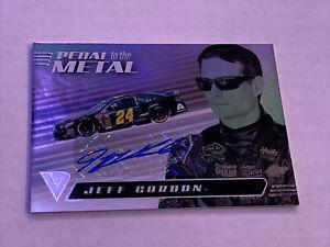 JEFF GORDON 2021 Chronicles Racing Black Pedal To The Metal Auto