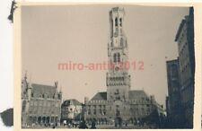 2 x Foto, San Kompanie 44, Rathaus und Marktplatz in Brügge, Belgien (N)1707