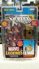 Marvel Legends PSYLOCKE MOJO SERIES NIB X-MEN WITH COMIC BOOK