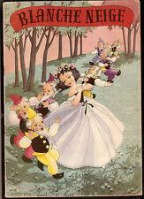 BLANCHE NEIGE et les SEPT NAINS   ed Hemma-Chaix 1955  illustré par MAURY