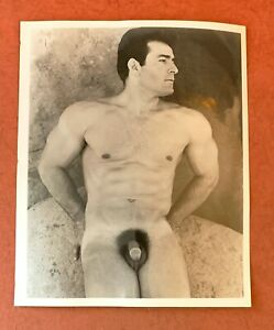 Vintage Male Nude Gay interest. 8 x 10.