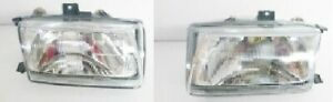 SEAT IBIZA MODEL 1993 95 FRONT HEADLIGHTS DEPO PAIR LH RH MANUAL & ELECTRIC NEW