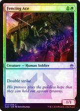 Fencing Ace FOIL Masters 25 NM White Common MAGIC THE GATHERING CARD ABUGames