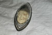 vintage late 1940's Indian 46 47 48 49 ? antique motorcycle front fender light