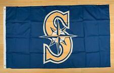 Seattle Mariners 3x5 ft Flag Banner MLB Retro Vintage Throwback