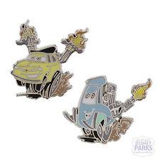 Disney Parks Cars Luigi and Guido 2 Pin Set