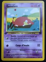 Carte Pokemon RAMOLOSS 67/82 Commune Team Rocket EDITION 1 FR NEUF