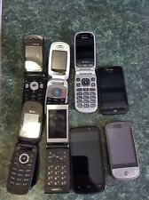 Lot of 8 cell phones