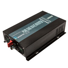 Pure Sine Wave Inverter 3000W Power Inverter 48V to 120V Off Grid LED Display