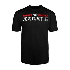 Bad Boy MMA Youth Karate T Shirt Kids Casual Wear Clothing Top Childrens Tee
