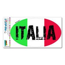 "New listing Italy Italia Country Flag - Euro Oval Italian Flag - Mag-Neato'Sâ""¢ Car Magnet"