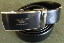 Armani MENS Belt.Fully adjustable ratchet click style belt size 30' to 38' value