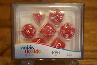 Oakie Doakie Dice RPG Set Life Counter Game Works with Twin Flip`n`Tray Red