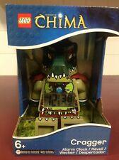 LEGO Legends Of CHIMA Cragger Alarm Clock